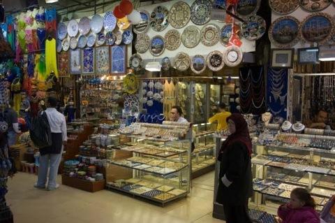 Grand Bazaar, em Istambul